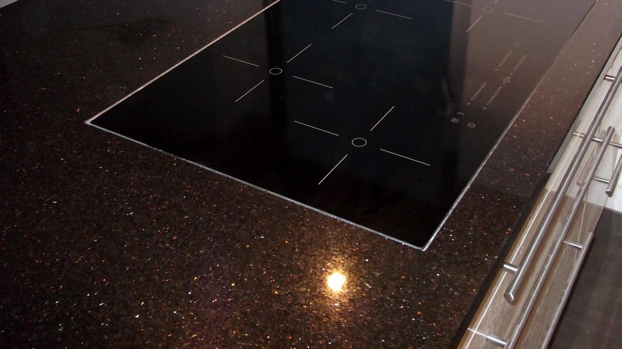 BLACK GALAXY PREMIUM, Küchenarbeitsplatten, poliert