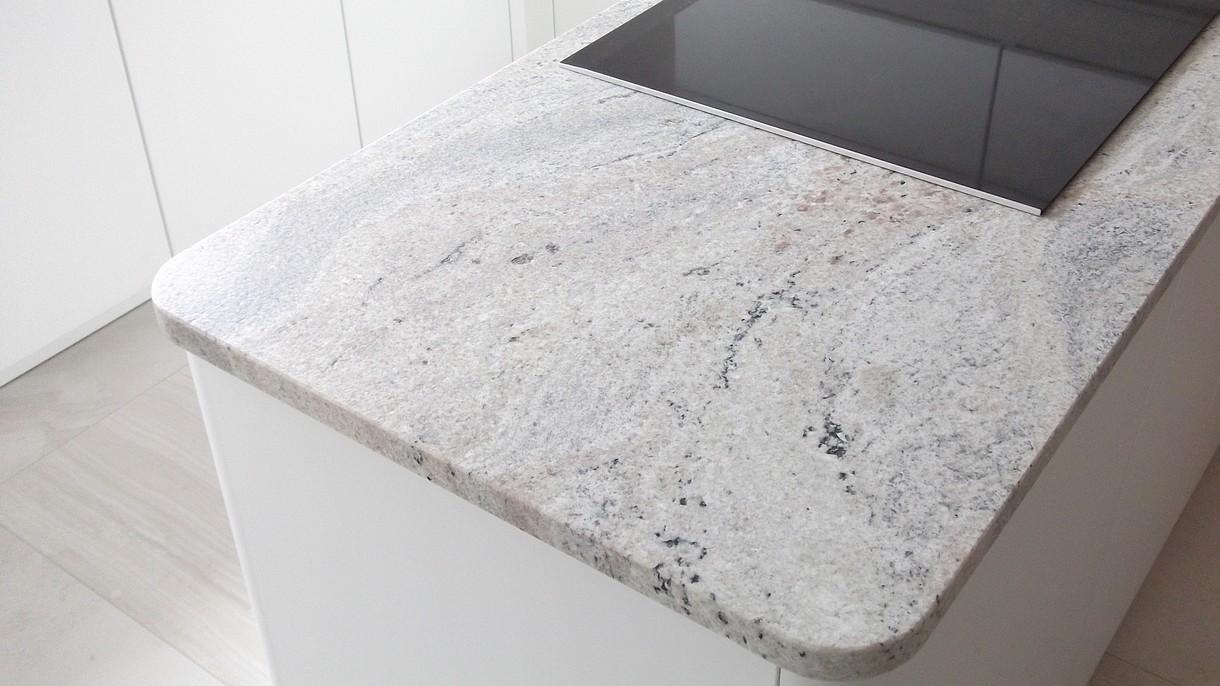 CIELO IVORY, Küchenarbeitsplatten, geledert