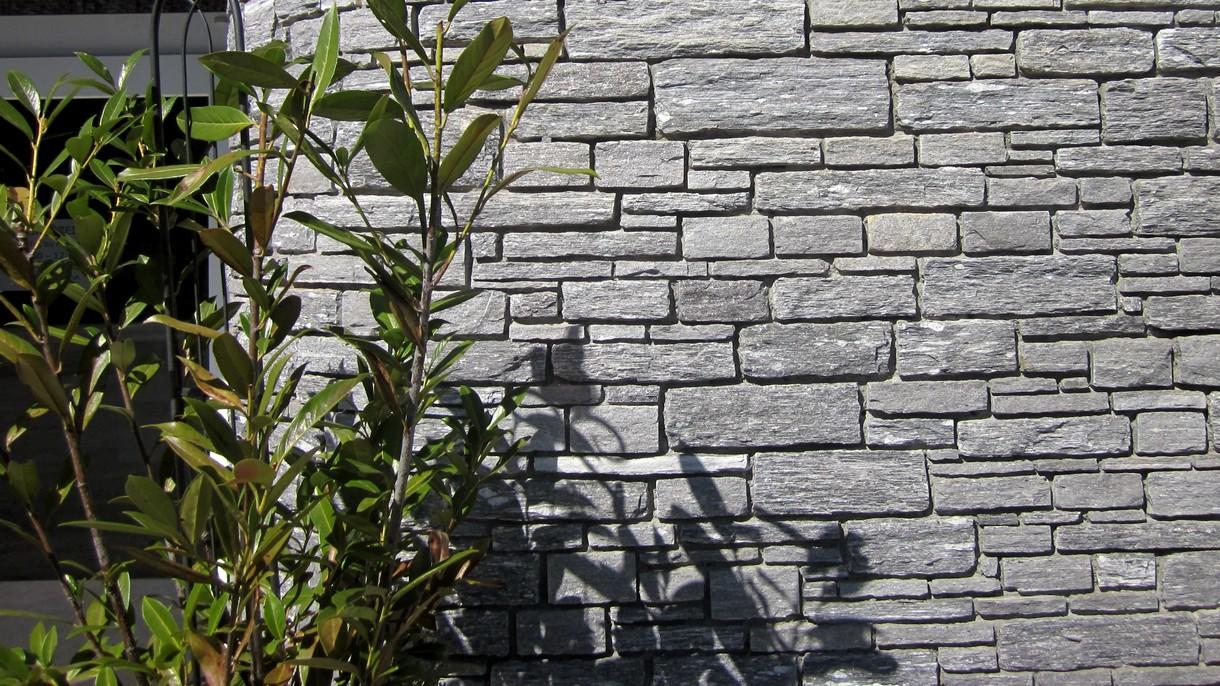 GRIGIO ONDULATO, Mauersteine, gespalten und gezwickt, 10-12 x freie Längen x 10 cm