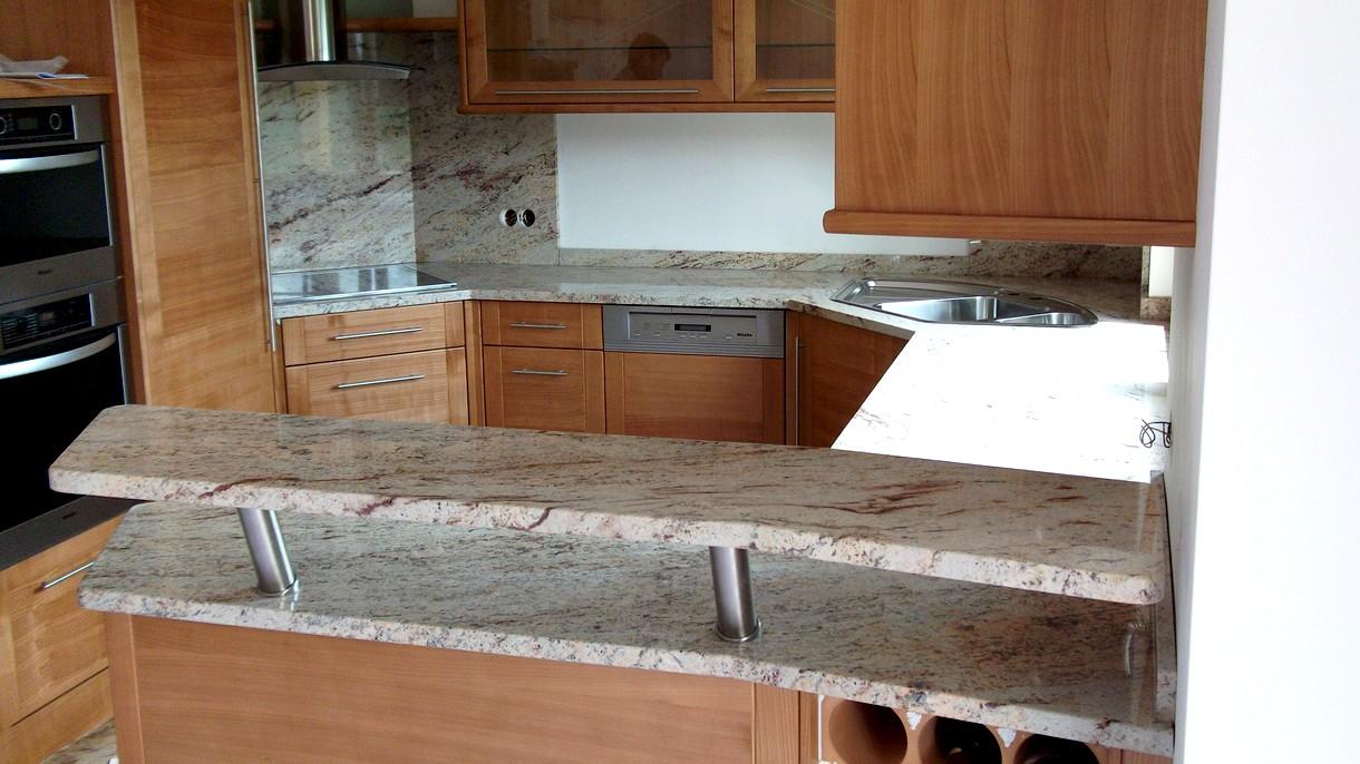 IVORY BROWN SHIVAKASHI, Küchenarbeitsplatten, poliert