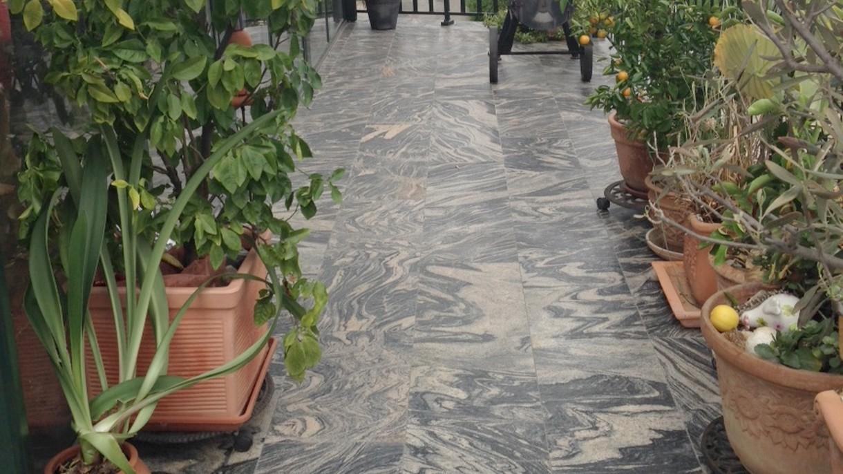 JUPARANA CN, Bodenplatten, geflammt, 60 x 35 x 2 cm