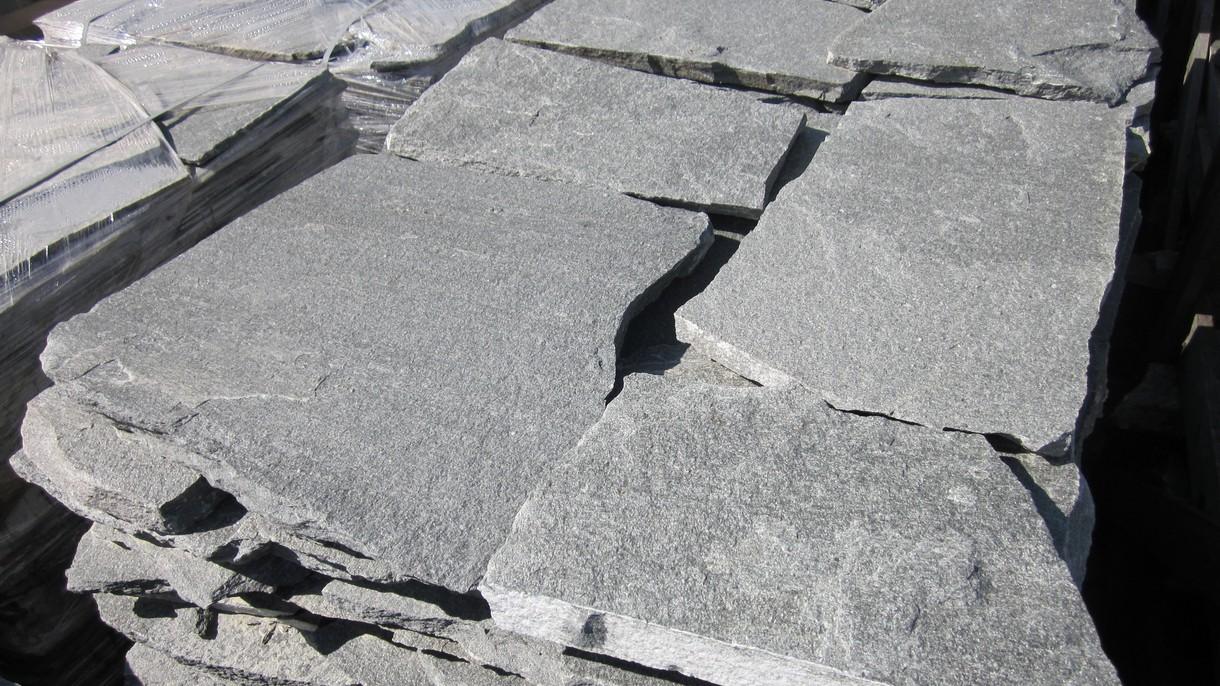 KAVALA, Polygonalplatten, gespalten, Normalformat stark x 2-4 cm