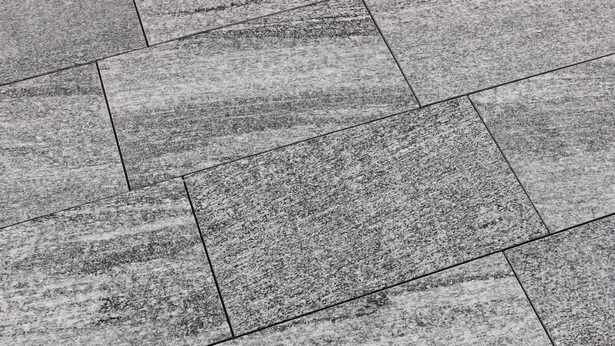 TAIFUN GREY, Bodenplatten, geflammt, 60 x 35 x 2 cm