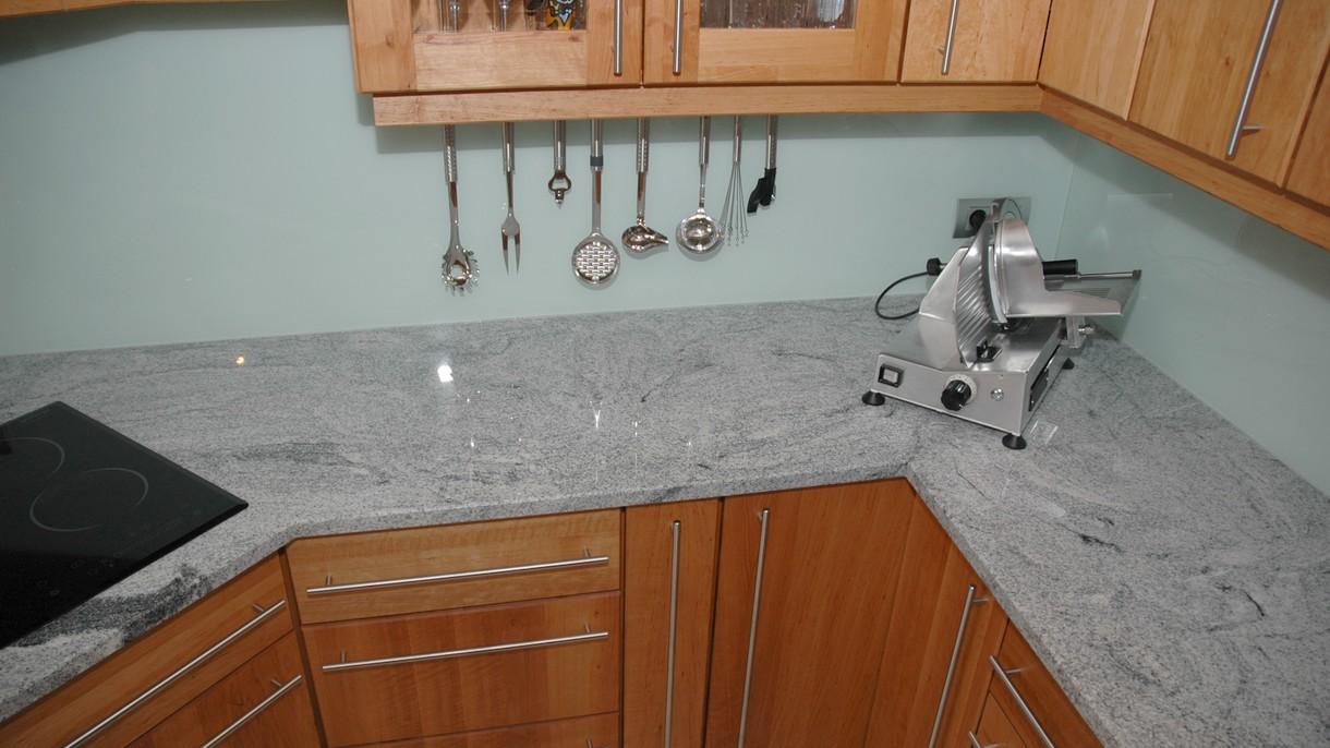 VISCOUNT WHITE, Küchenarbeitsplatten, poliert